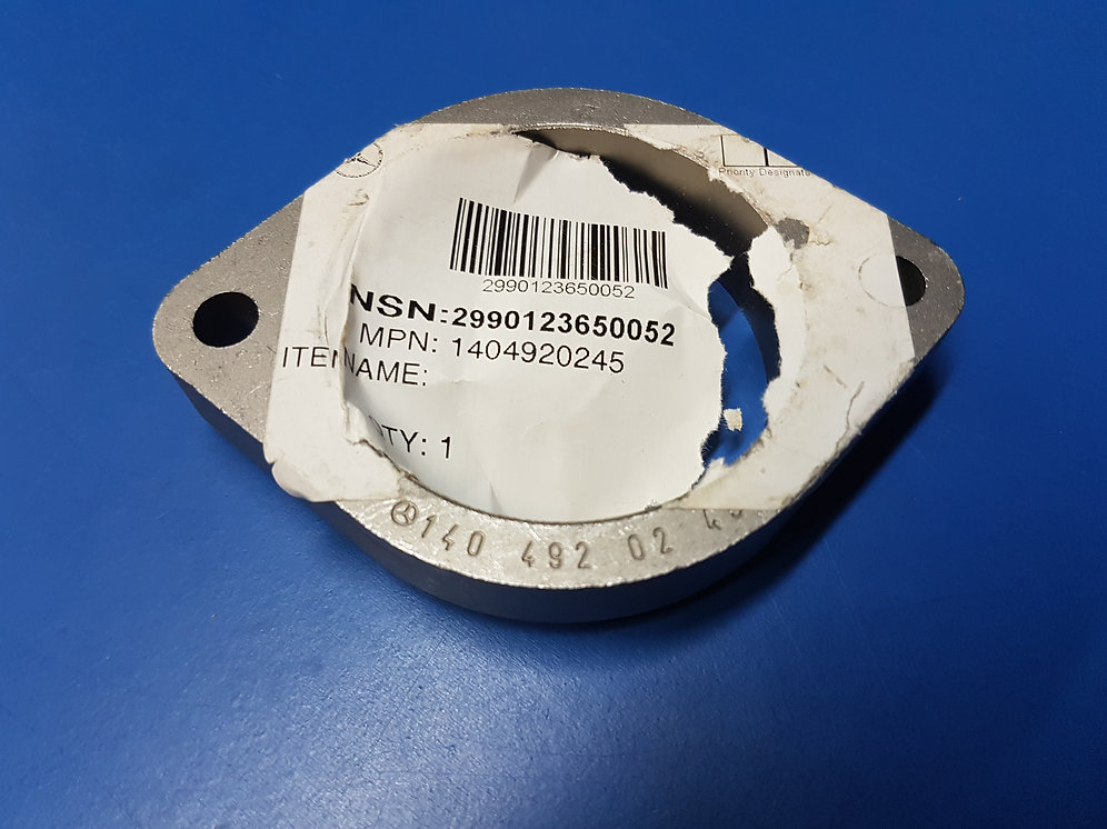 Mercedes Om642 - Exhaust Pipe Flange Front