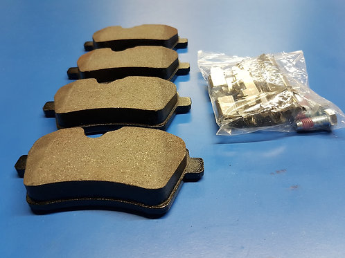 Mercedes W169 & W245 Front Brake Pad Set - 169 420 20 20, 1694202020