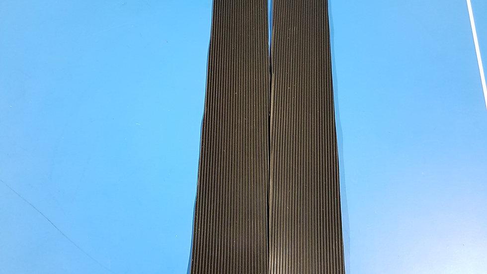 Mercedes W113 Pagoda Step Tread Set (Black) Replica  113 686 03 80, 1136860480
