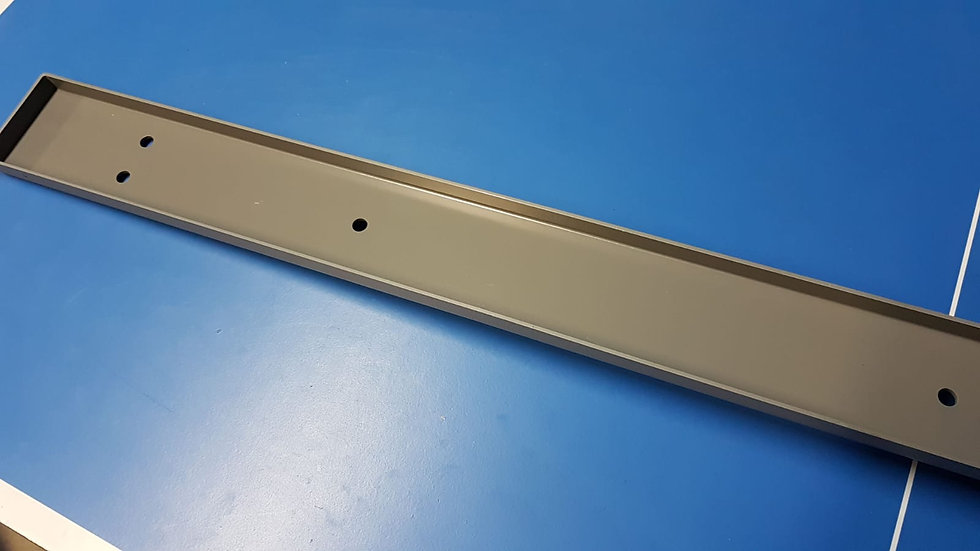 Mercedes W461 B Pillar Trim Cover – left Hand grey - 461 692 15 00, 4616921500