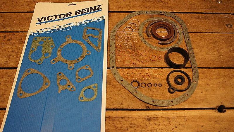 Mercedes W123 Turbodiesel Lower Engine Gasket Kit - 617 010 11 05, 6170101105