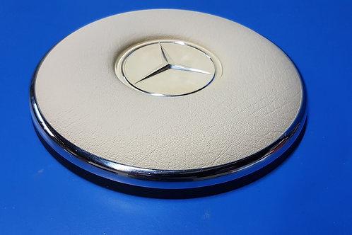 Mercedes W108 – W113 Steering Wheel Pad Ivory - 111 460 07 42, 1114600742