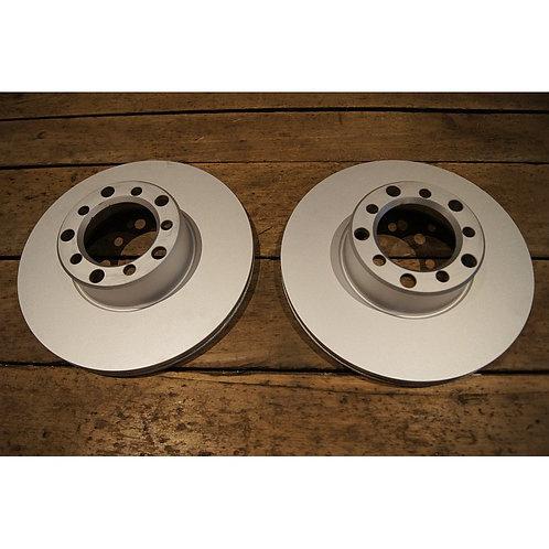 Mercedes W107 & W116 Front Disc brake rotor set - 126 420 00 05, 1264200005