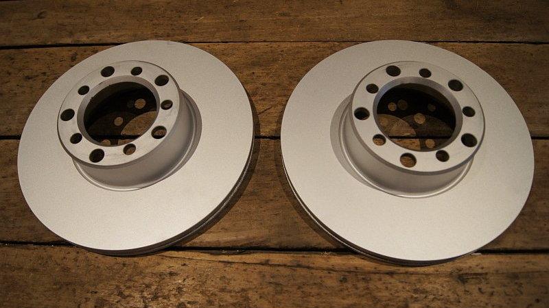 Mercedes W107, W116 & W126 Frt Disc brake rotor set - 126 420 00 05, 1264200005
