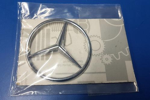 Mercedes W107 SL Late Boot/Trunk Star - 107 758 04 58, 1077580458