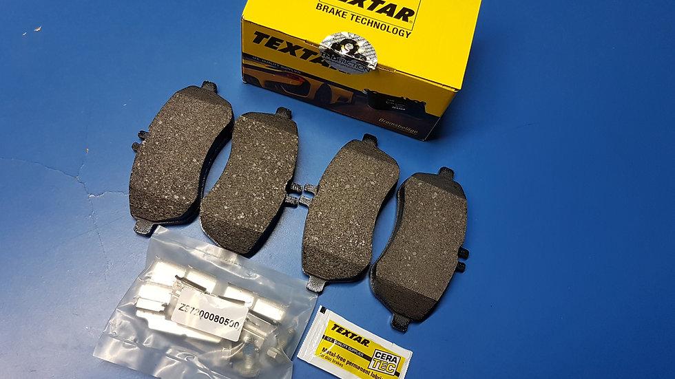 Mercedes W204, W207 & W212 Front Brake Pad Set - 007 420 55 20, 0074205520