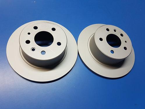 Mercedes W107- W109, W113 - W123 & W126 Rear Rotors - 126 423 00 12, 1264230012