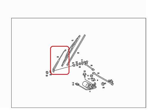 Mercedes W123 Left Wiper Arm -RHD vehicles - 123 820 39 44, 1238203944eft