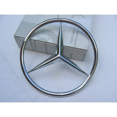 Mercedes W107 SL Boot/Trunk Star early - 107 758 01 58, 1077580158
