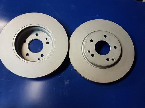 Mercedes R171, W203, W208 – W210 Brake rotor set frt - 203 421 05 12, 2034210512