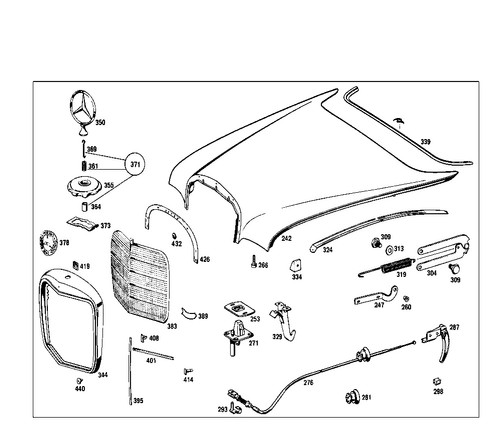 Webshop For New Parts For Classic Mercedes Benz Vehicles