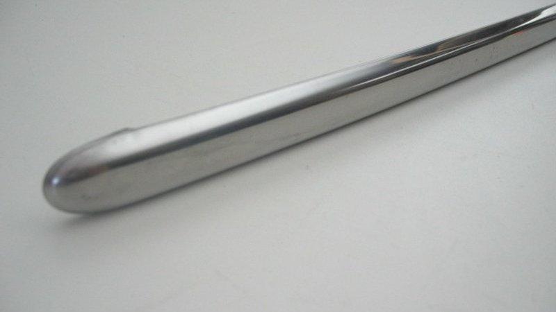 Mercedes W114 - W115 Trim Under Front Bumper LH - 115 881 01 32, 1158810132
