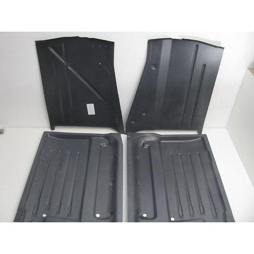Mercedes W107 SL (early) - Floor Panels Set - 107 616 01 67 & 107 616 02 67