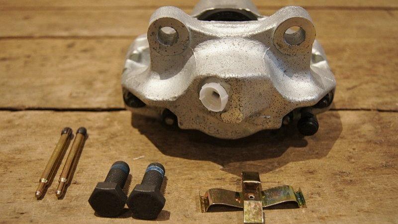 Mercedes W123 Wagon Rear right brake caliper - 1234201283, 123 420 12 83