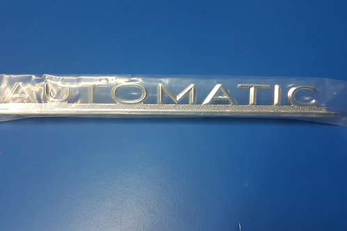 Mercedes W110-W112 Automatic Boot Badge - 112 817 06 15, 1128170615