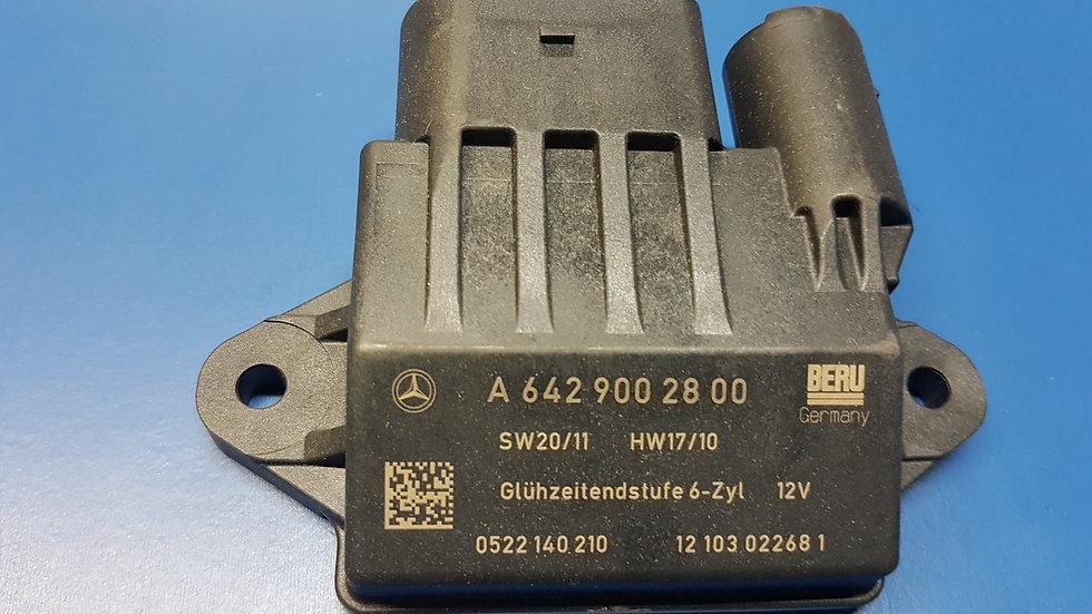 Mercedes OM642 Glow Plug Control Module/Relay: - 642 900 28 00, 6429002800