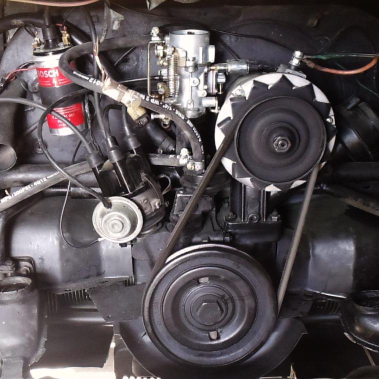 Motor Kombi 71 Restaurado