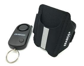 ERABOS Jogger-Alarm, Panikalarm, Schrillalarm, Taschenalarm, Runner-Alarm, Personenalarm