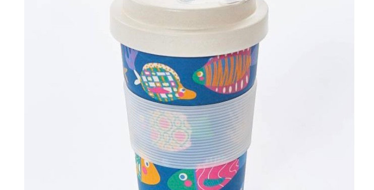 EcoChic Coffee Cup - Fish