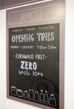 Refill Store Opening Times