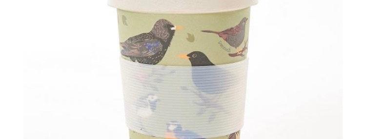 EcoChic Coffee Cup - Birds