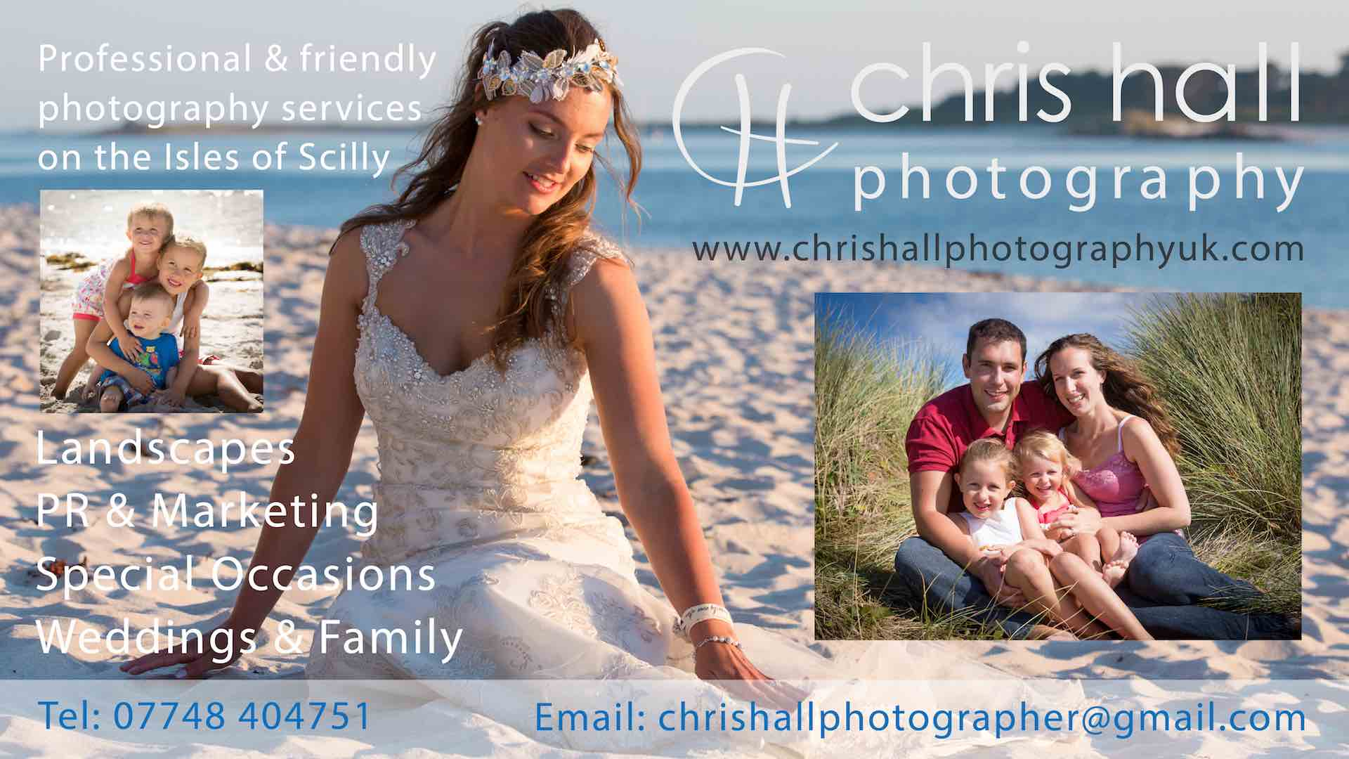 Chris Hall Photography Digital Board