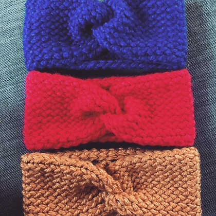 Knitted Head Warmers