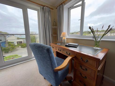 Writing Desk in Living Room