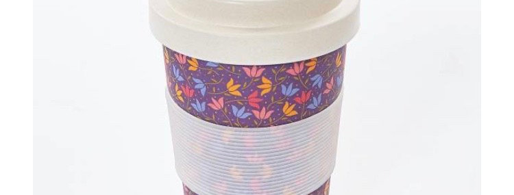 EcoChic Coffee Cup - Ditsy Floral