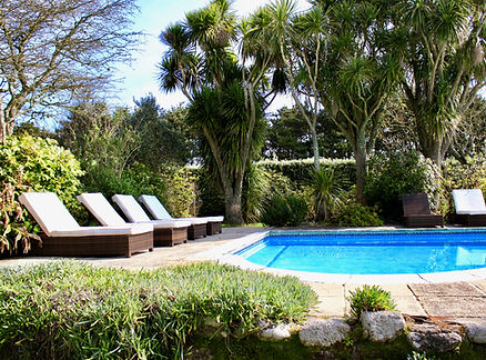 Swimming Pool Carnwethers, Self Catering Accommodation St Mary's Isles of Scilly