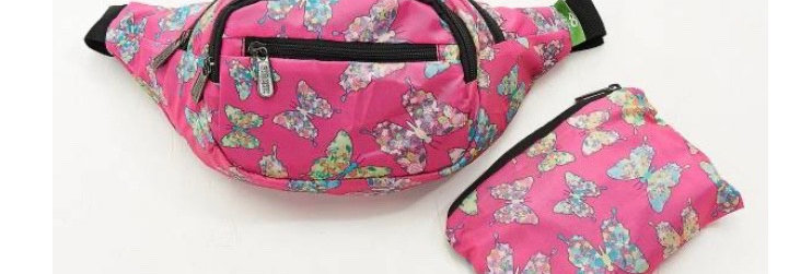 EcoChic Bum Bag - Butterfly Pink