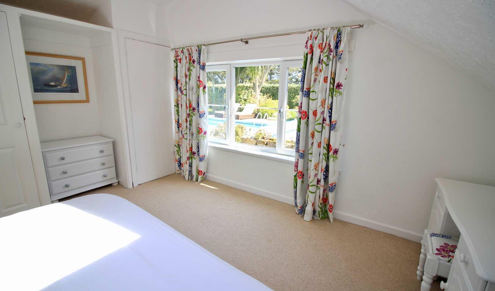 Poolside Bedroom