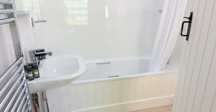 Poolside Bathroom