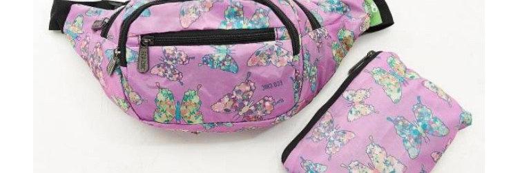 EcoChic Bum Bag - Butterfly Purple
