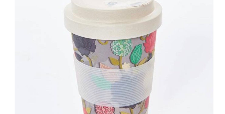 EcoChic Coffee Cup - Floral