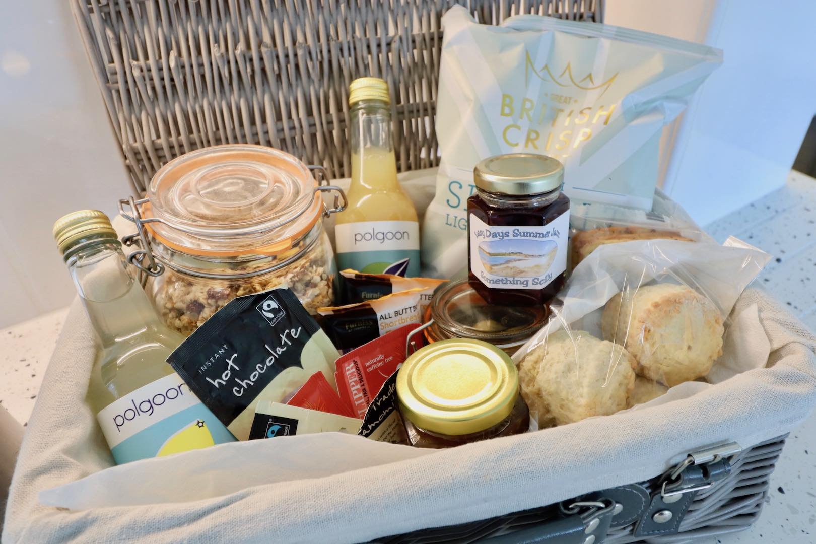 Penhallow Self Catering Welcome Hamper