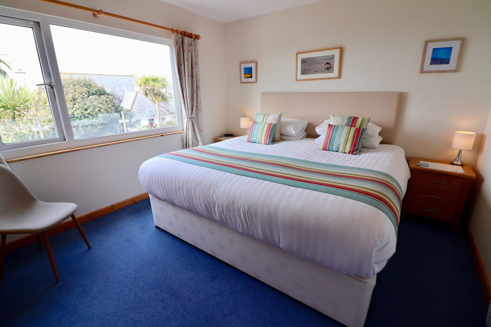 Front Bedroom with Sea Views