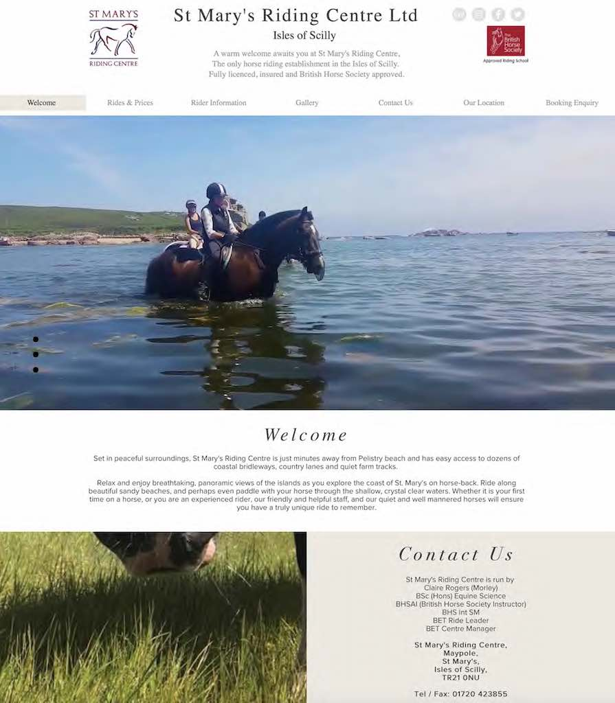 Scilly Horses