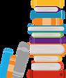 A pile of books image