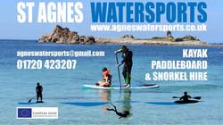 St Agnes Watersports Digital Board