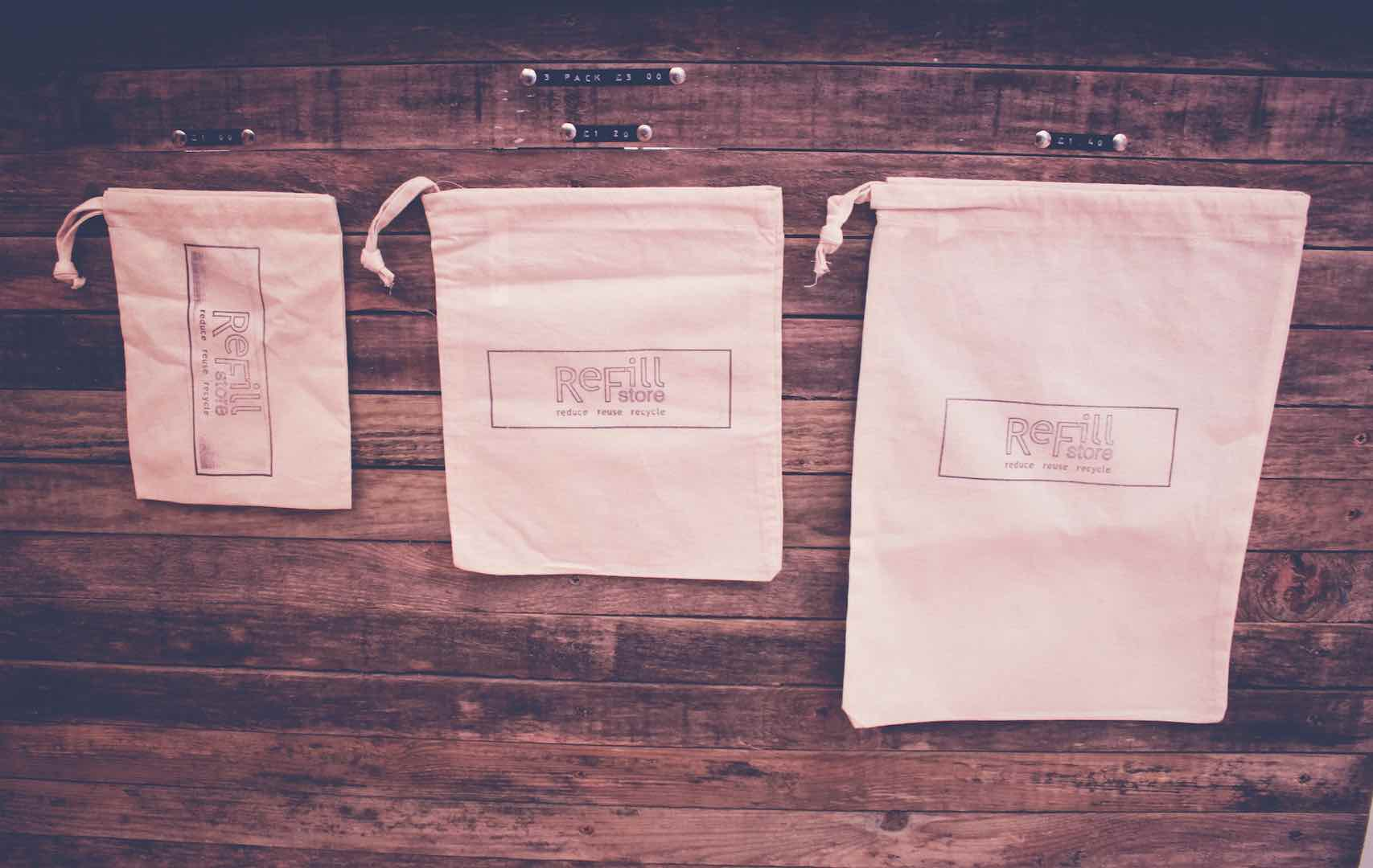 Refill Store Shopping Bags