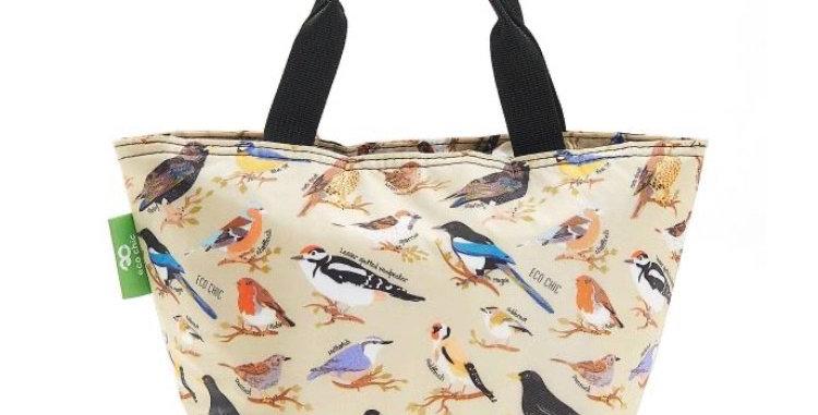 EcoChic Foldable Lunch Bag - Birds
