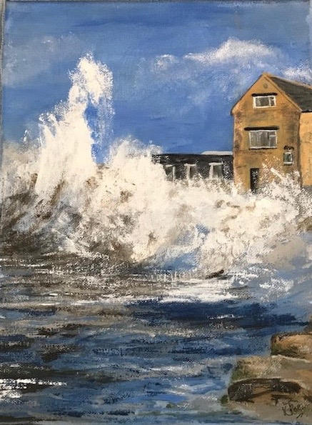 Crashing the Harbour Wall