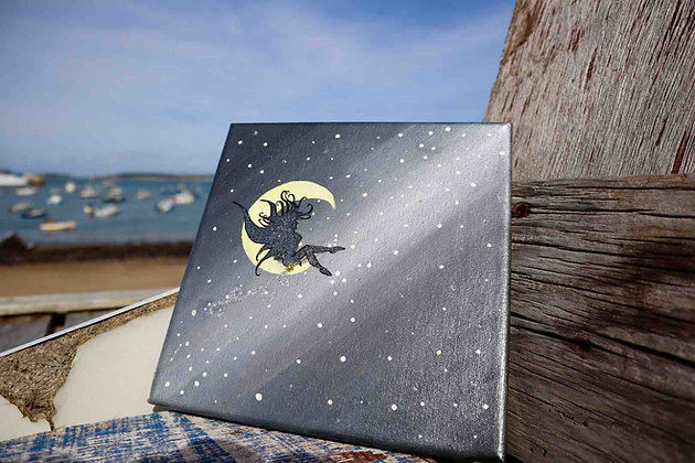 Fairy on the Moon