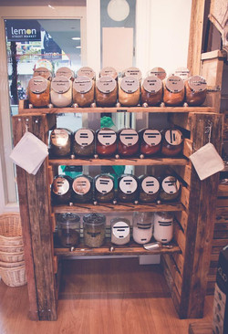Refill Store Herbs & Spices Rack