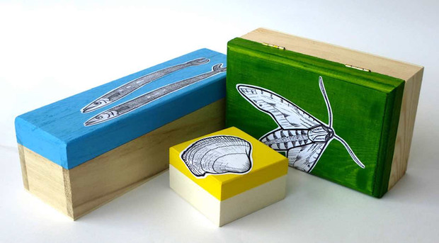Gift boxes by Emma Eberlein