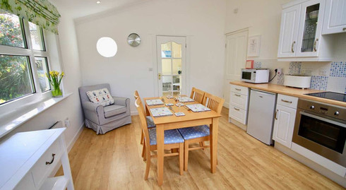 Rowan Tree Kitchen into Living Area
