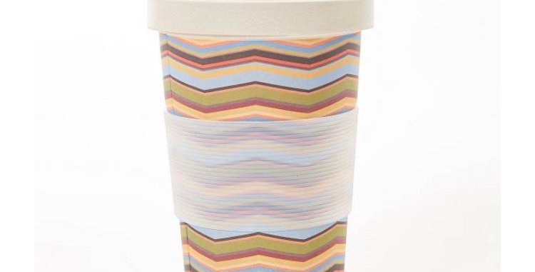 EcoChic Coffee Cup - Stripes