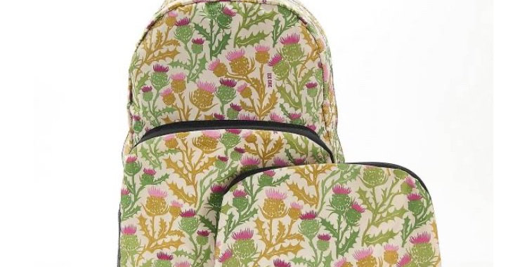 EcoChic Mini Backpack - Thistle