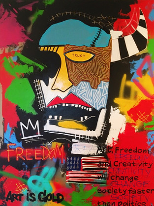 """Freedom to Create"""